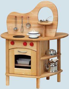 Glückskäfer, Nic - Spielküche mit Aufsatz - Holz