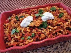 Macaroni stroganov - lekker tafelen