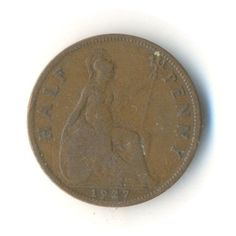 Items similar to George V Half Penny 1936 Coin (Code: on Etsy Old Coins, Rare Coins, Postcards For Sale, Coins For Sale, Old Money, Coin Collecting, Coding, Mall, Etsy