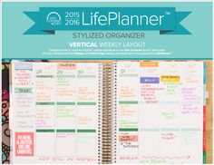 Image result for erin condren life planner horizontal layout