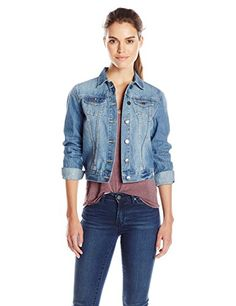Buffalo David Bitton Women's Nova Classic Denim Jacket -- Read more reviews of the product by visiting the link on the image.