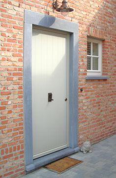 Deurportiek - deur- & raamdorpel in Belgische blauwsteen