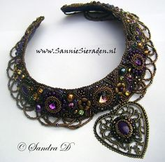 Beautiful necklace by Sandra Dokter-van Esveld