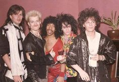 John Taylor, Billy Idol, Johnny Patterson II, Steve Stevens and Andy Taylor