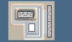 Home Decor: Gypsum board ceiling design maps Glass Design, 3d Design, Faux Plafond Design, Gypsum Board Design, Plaster Texture, Pop Ceiling Design, Google Tricks, Gypsum Ceiling, Board Decoration