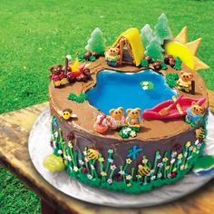 camping at lake cake | Pool furniture, divingboards and accessories (see Tip):
