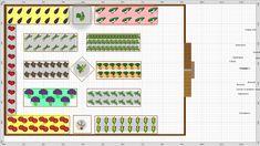 Garden Plan - ngan Window Plants, Garden Types, Garden Soil, Types Of Soil, Garden Planning, Grape Vines, Homesteading, Horticulture, Vineyard Vines