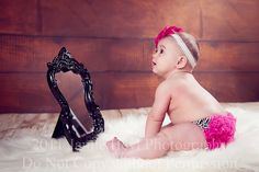Cute picture idea for a chubby baby!