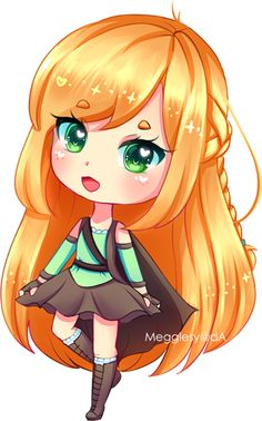 chibi for amazingbeans > u< i hope you like it sweetie, thank you for commissioning me! ♡ ONLY amazingbeans may use this! Chibi Characters, Cute Characters, Cute Anime Character, Cute Kawaii Drawings, Kawaii Art, Cute Anime Chibi, Kawaii Anime Girl, Disney Anime Style, Princess Cartoon