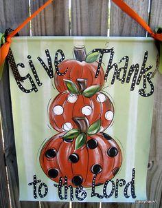 Thanksgiving Door Hanger#Repin By:Pinterest++ for iPad#