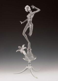 Impresionantes esculturas de cristal. | Quiero más diseño