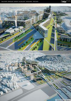 Maltepe - Dragos Sanayi Alanları Davetli Mimari Proje Yarışması Tabanlıoğlu Mimarlık