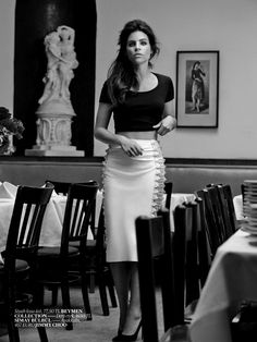 Julia Restoin Roitfeld by Sebastian Faena for Vogue Turkey August 2013