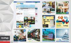 Gerenciamento e criação de conteúdo, atualização e análise das redes sociais da Imobiliária VendPraia