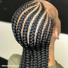 37 latest Fulani black braided hairstyles 2018 To copy - Best Cornrow Hairstyles Feed In Braids Hairstyles, Braids Hairstyles Pictures, Twist Hairstyles, Hairstyles 2018, Daily Hairstyles, Simple Hairstyles, African American Braided Hairstyles, Braided Hairstyles For Black Women, African Hairstyles