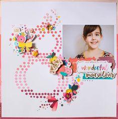 8 #pinkpaislee #paigetaylorevans #pickmeupcollection #scrapbooking #scrapbooklayout