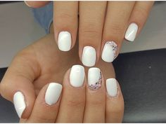 #white #withdetails #millinails
