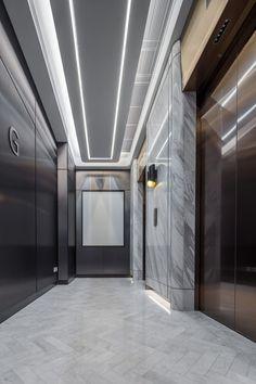 H Zentre — CL3 Elevator Lobby Design, Corridor Design, Retail Interior Design, Lift Design, Workplace Design, Signage Design, Lobbies, Indoor Air Quality, My Dream Home