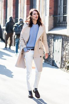 Aymeline Valade à la Fashion Week automne-hiver 2018-2019 de Paris