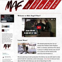 7/26/2016-ACTING-Mad Angel Films Launches New Website