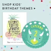 Kids Birthday Invitations & Custom Birthday Invitations | Minted