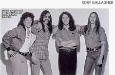 Rory Gallagher , Lou Martin ,Rod DeAth ,Gerry McAvoy - Classic Rock Magazine by dollerosa, via Flickr