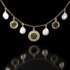 Gold necklace  By Kelka Jewelry