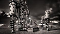 Ťažké stroje ako z inej galaxie Image
