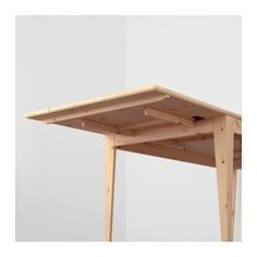 IKEA   NORNÄS, Drop Leaf Table, Solid Pine Is A Natural Material That