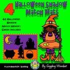 Halloween Shadow Match Mats by Giggling Wombat | Teachers Pay Teachers