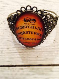 Sexy Ouija Cuff Bracelet by RingAroundRosey on Etsy