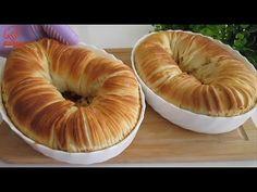 Această pâine este PERFECTĂ PENTRU DEJUNARE / Incredibil de UȘOARE și DELICIOASĂ / Toată lumea va do - YouTube Muffin Recipes, Bread Recipes, How To Make Pastry, Bagel Bread, Pan Relleno, Brioche Bread, Breakfast Muffins, Sweet Bread, Sandwiches