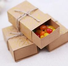 Breezy 8*3 cm Kraft Boîtes En Carton À La Main Savon Emballage Boîte Handmand Paquet Cadeau Kraft Boîtes pour Noël(China (Mainland))