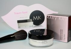 Mary Kay Transluscent Loose Powder - Zum Make-Up setten und gegen Glanz auf der Haut