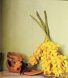 yellow and shoes - April '11