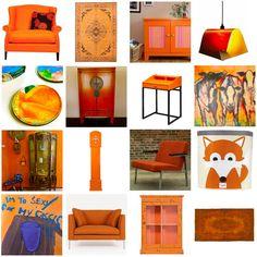 Woonhome.nl. Ook een website met heel veel #oranje #meubels en #woonaccessoires!