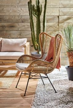 Home Decoration Ideas For Wedding Product Garden Furniture, Furniture Design, Outdoor Furniture, Cozy Living Rooms, Living Room Decor, Dining Room, Natural Home Decor, Diy Home Decor, Small Backyard Patio