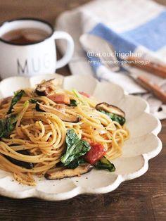美味しいが止まらない♡おうちで和風パスタ♡ by 篠原あい/あいのおうちごはん 「写真がきれい」×「つくりやすい」×「美味しい」お料理と出会えるレシピサイト「Nadia   ナディア」プロの料理を無料で検索。実用的な節約簡単レシピからおもてなしレシピまで。有名レシピブロガーの料理動画も満載!お気に入りのレシピが保存できるSNS。