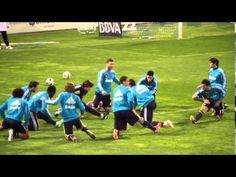 Calentamiento del Real Madrid - YouTube