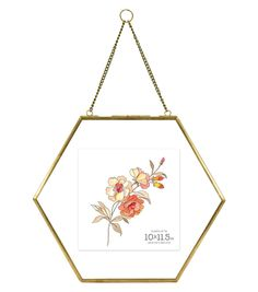 Not Available Hexagonal Hanging Pressed Glass Float Picture Frame, Brass Floating Picture Frames, Glass Picture Frames, Picture Frames Online, Hanging Picture Frames, Frames On Wall, Glass Floats, Pressed Glass, Frame Shop, Diy Frame