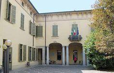 Cortile di Villa Simonetta Archinto, sede del Municipio .