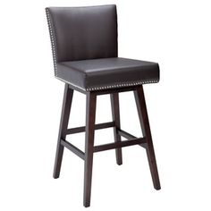Shop for Sunpan '5West' Vintage Leather Swivel Barstool. Get free shipping at Overstock.com - Your Online Furniture Outlet Store! Get 5% in rewards with Club O!