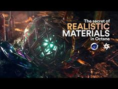 The secret of REALISTIC MATERIALS in Octane. 2018 - YouTube