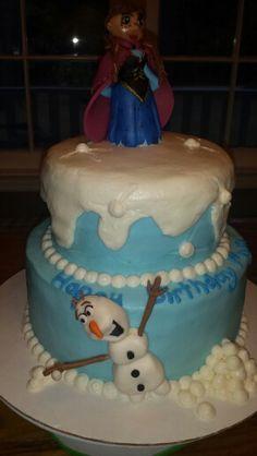 Frozen cake with Anna