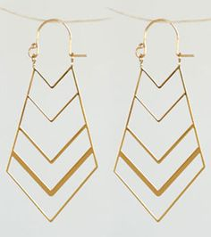 my new ear candy // kris nations // chevron marquis