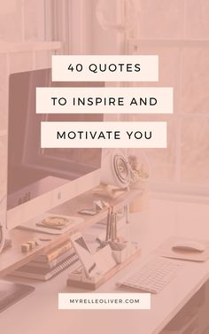 Sometimes you just have those days when you don't feel motivated or inspired to work, exercise or whatever you need to do. Here are 40 quotes to inspire and motivate you. Motivate Yourself, Live For Yourself, Improve Yourself, Welcome To The Group, Motivational Quotes, Inspirational Quotes, Night Routine, How To Wake Up Early, Happy Thoughts