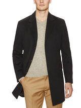 Portel Wool Overcoat