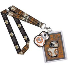 Star Wars Lanyard Neck Strap Id Holder Bb8 Star Wars, Star Wars Toys, Id Holder, Badge Holders, Starwars, R2d2, Disney Lanyard, Cute Lanyards, Lego