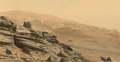 New view of Gale crater, Mars, from Curiosity, post-solar conjunction! Credit: NASA - Image processing: O. Goursac