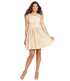 Jodi Kristopher Sequin Soutache Party Dress #Dillards